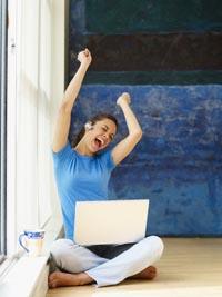 negocio en Internet basado en el hogar